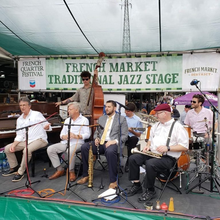 Steve Pistorius Southern Syncopators at French Quarter Festival