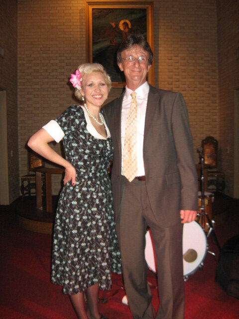 Gunhild Carling and Steve
