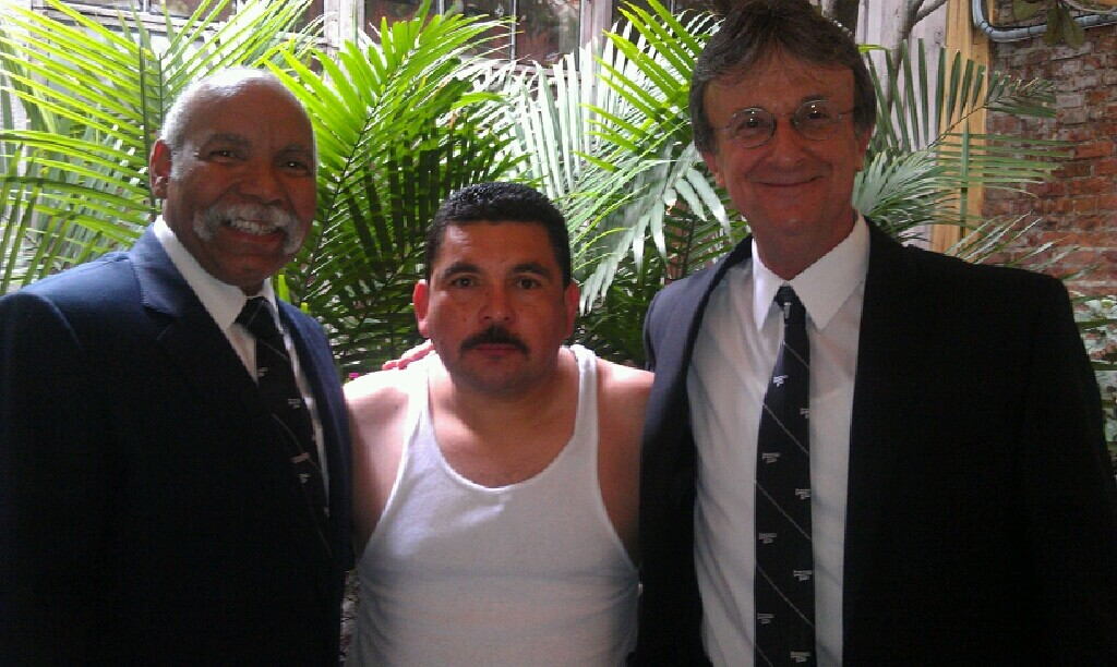 Richard Moten, Guillermo from Jimmy Kimmel show and Steve