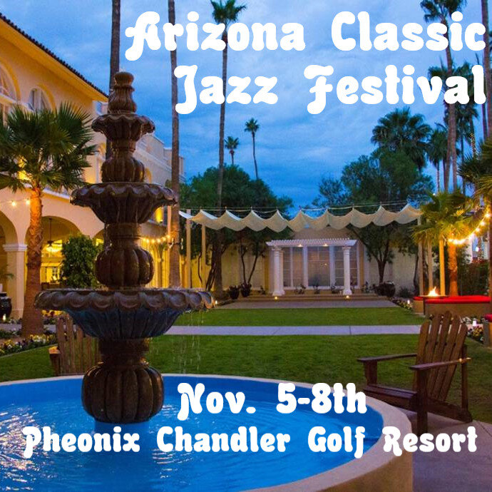 Arizona Classic Jazz Festival - From inside a Livestream with Carl Sonny Leyland