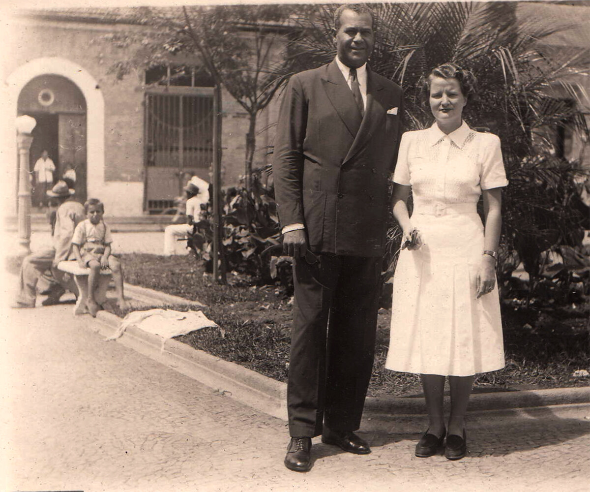 Frank and Madeleine - Serra Negra