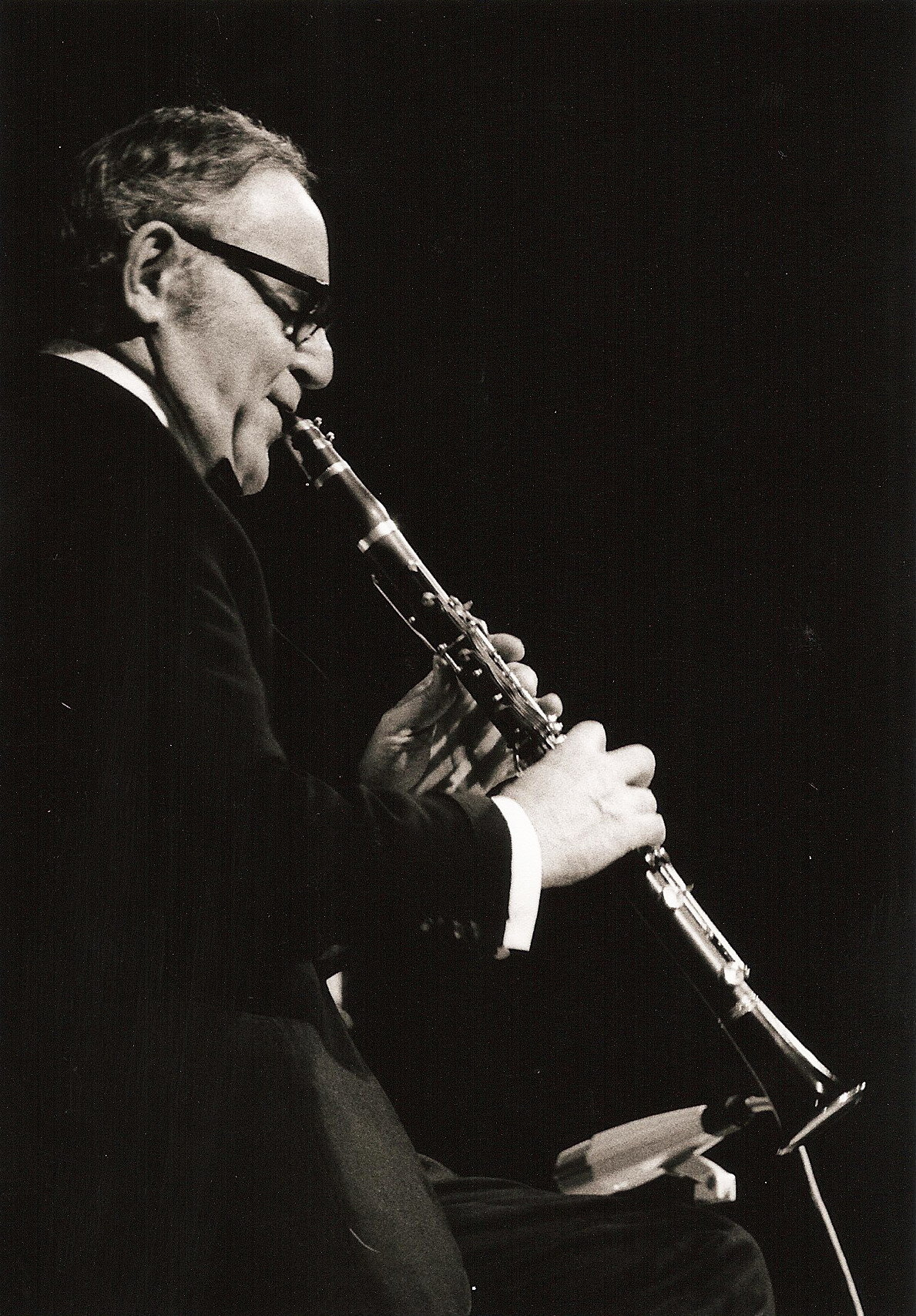 Benny Goodman in concert in Nuremberg, Germany 1971