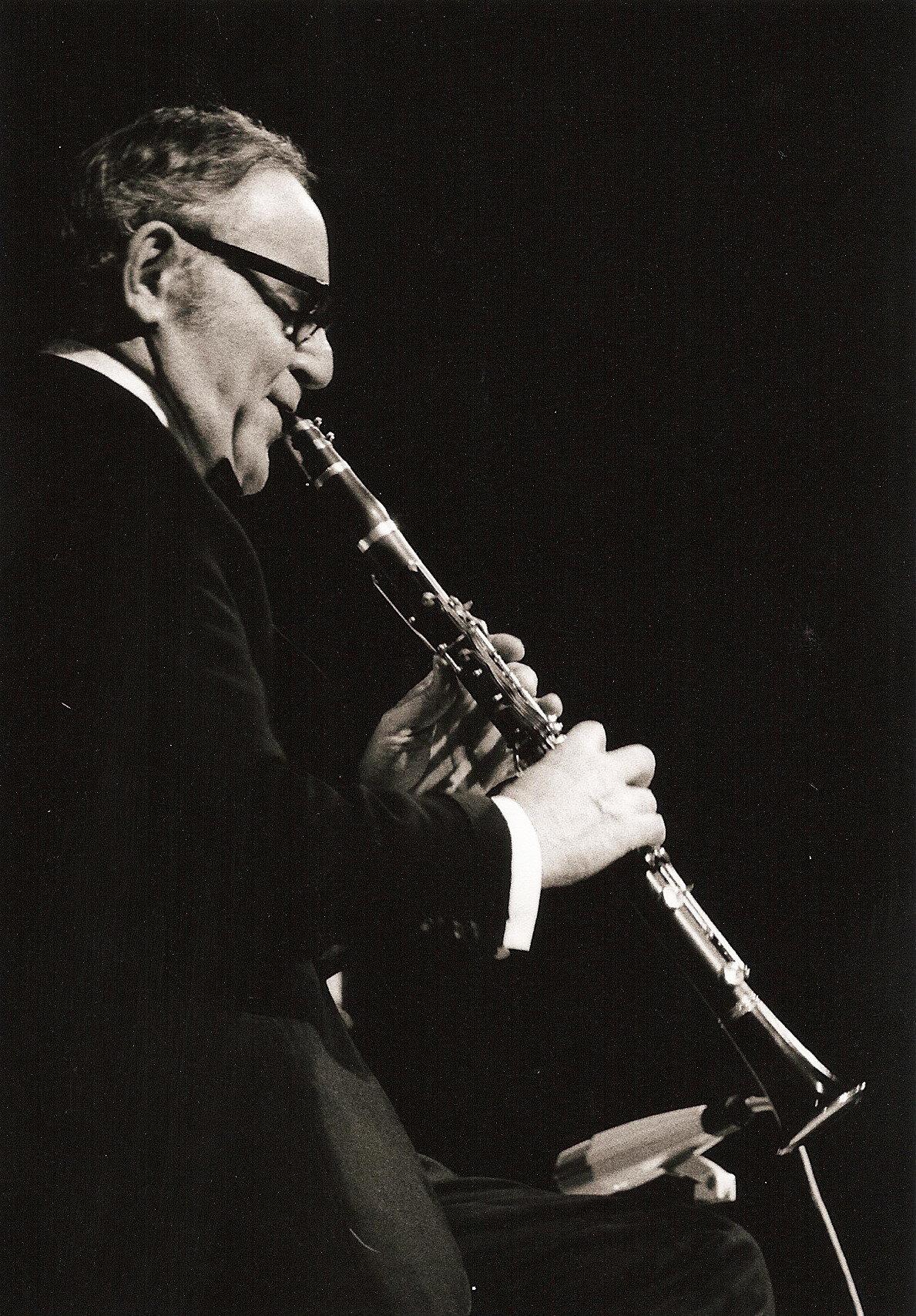 Benny Goodman in concert in Nuremberg, Germany 1971