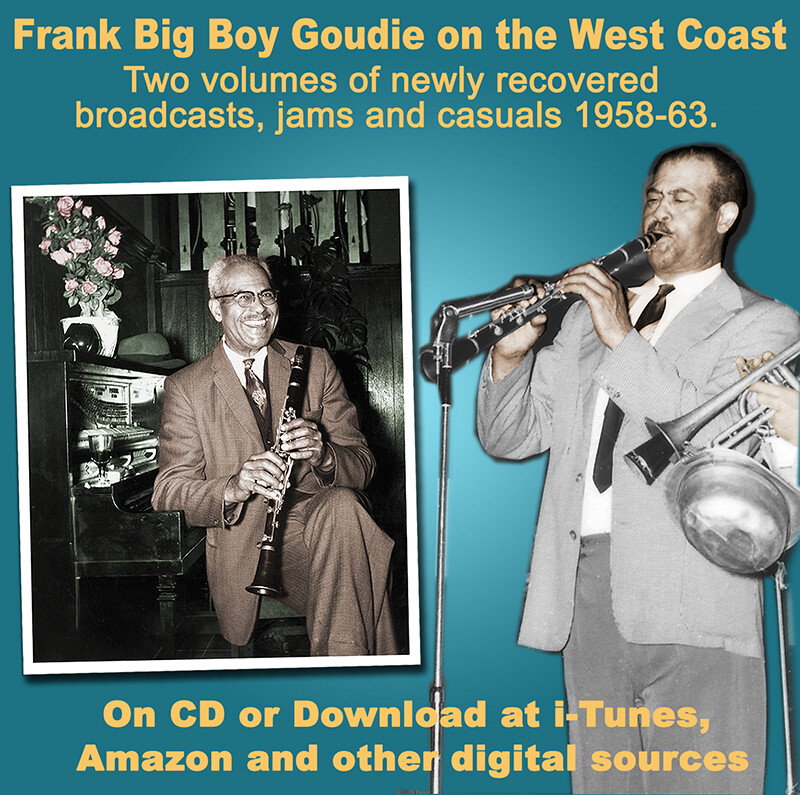 Goudie Square copper on blu B - Bud Freeman: Profile in Jazz