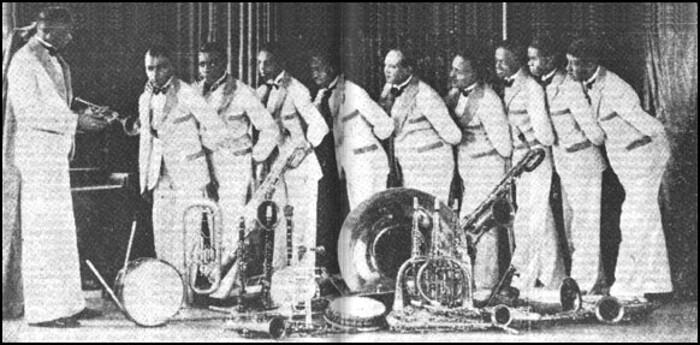 Sonny Clay's Plantation Orchestra 1928