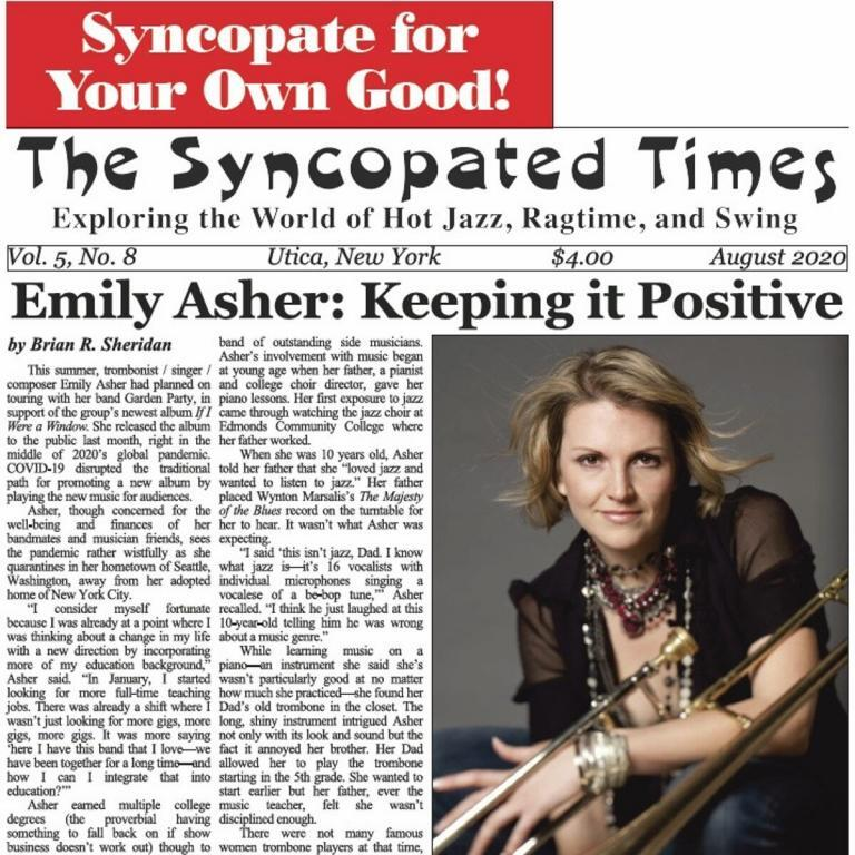Syncopated Times 2020 08 August cover 768x768 - Events