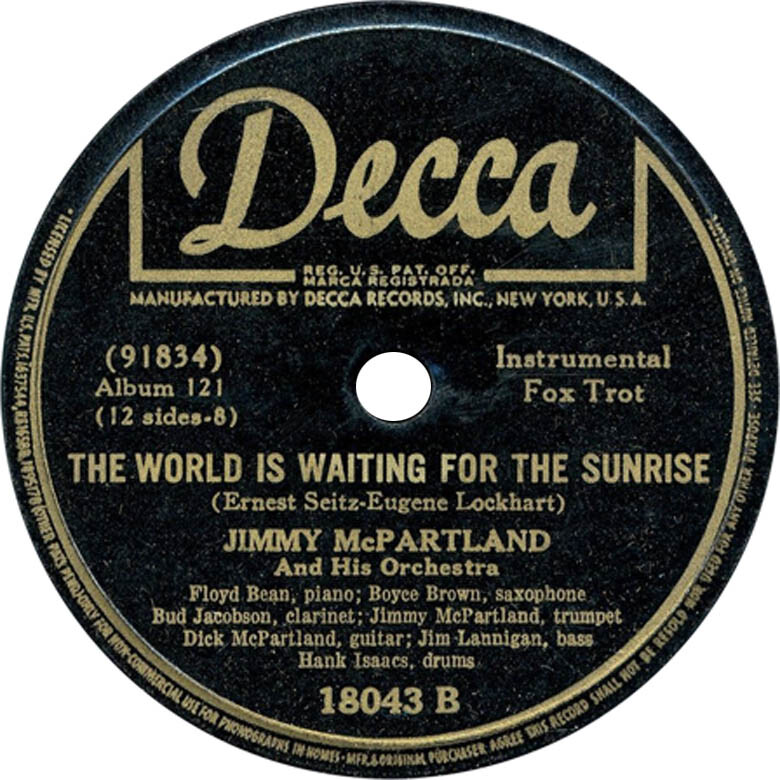 jimmy-mcpartland-the-world-is-waiting-for-the-sunrise-decca-78