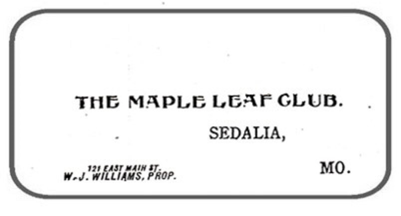 Maple Leaf Club Business Card