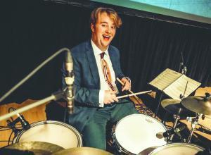 Riley Baker drums
