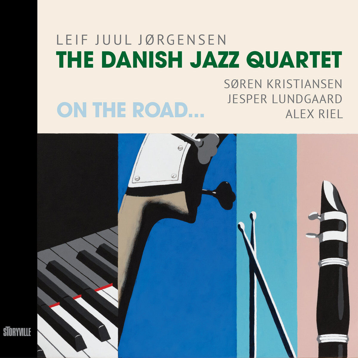 The Danish Jazz Quartet • On The Road...