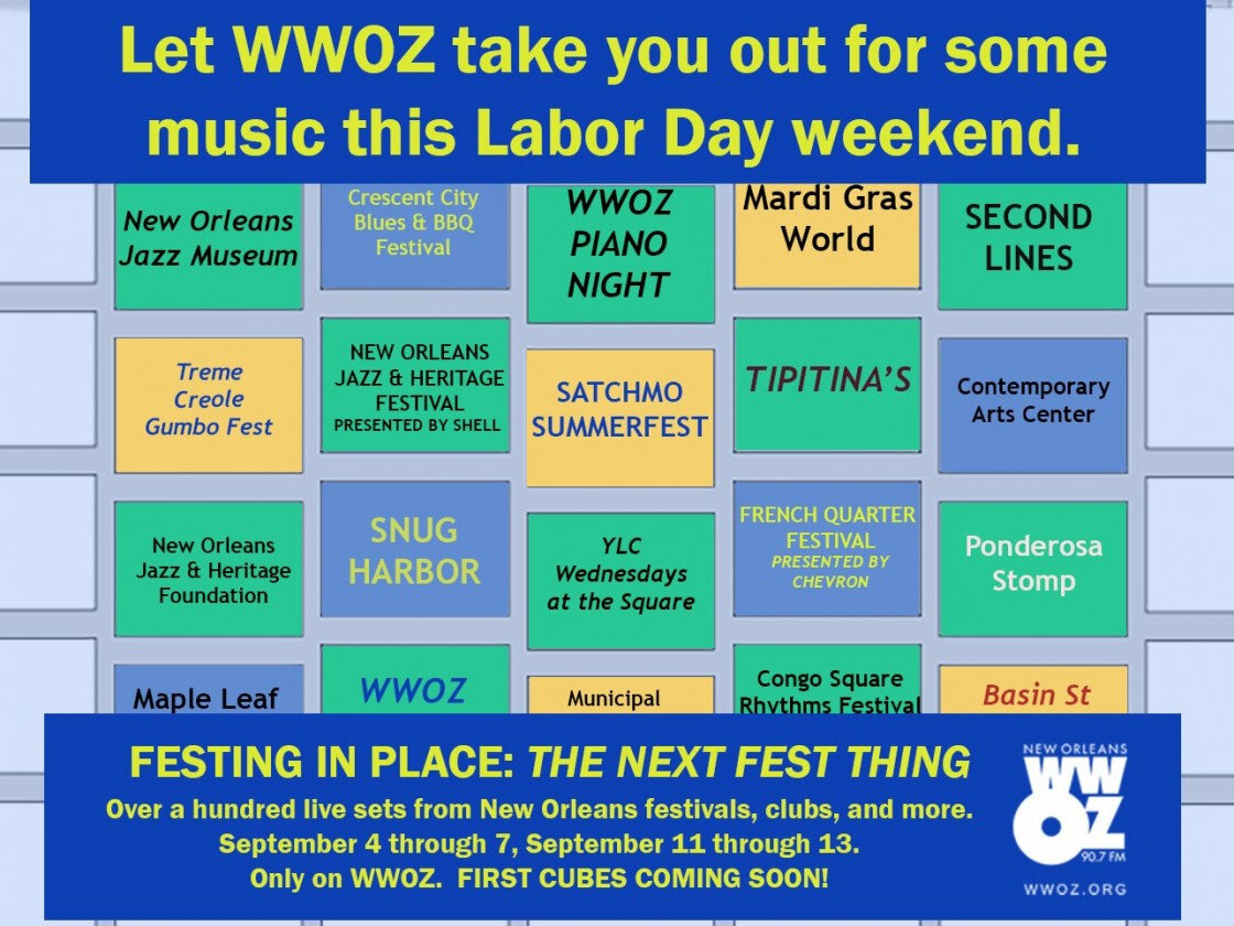 Jazz Festing in Place: The Next Fest Thing