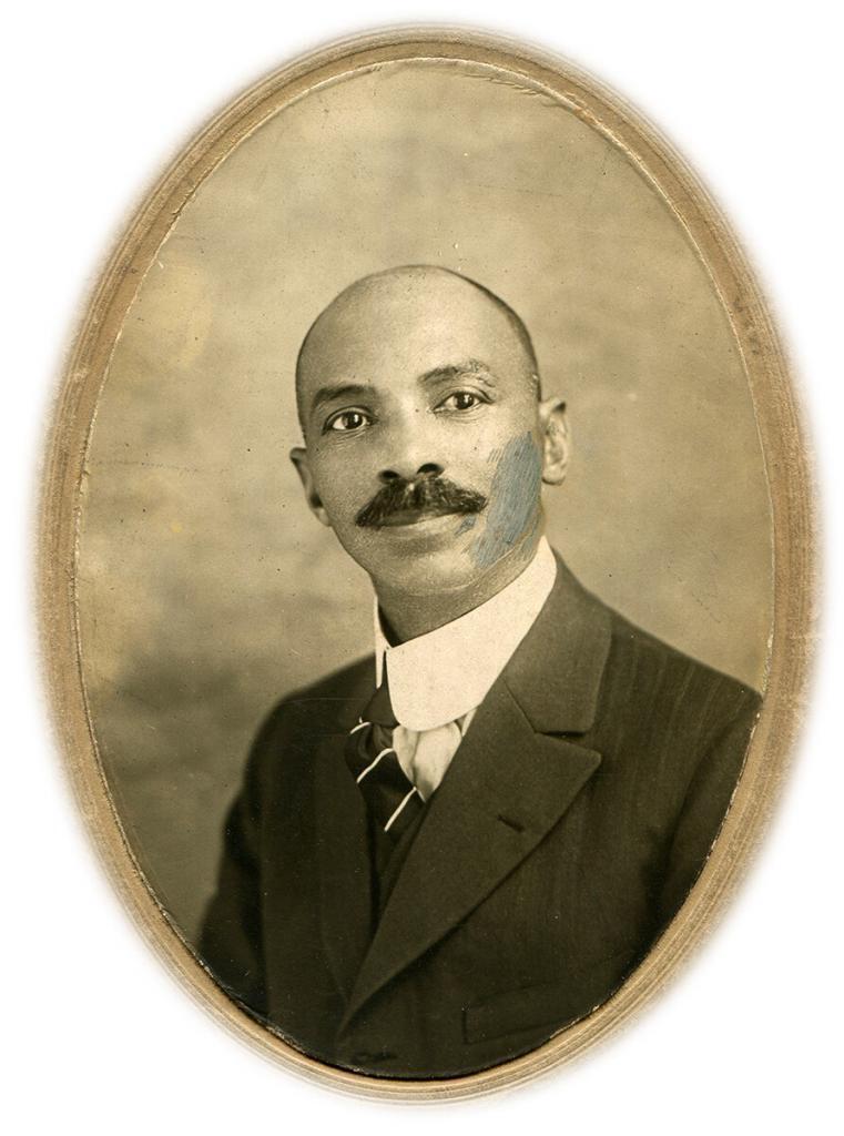 W.C. Handy Oval Portrait