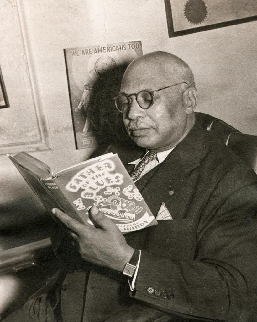 W.C. Handy Reading Father of the Blues