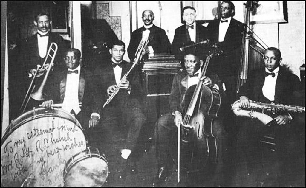W.C Handy's Memphis Orchestra 1918