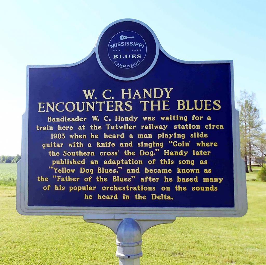 W. C. Handy Encounters the Blues
