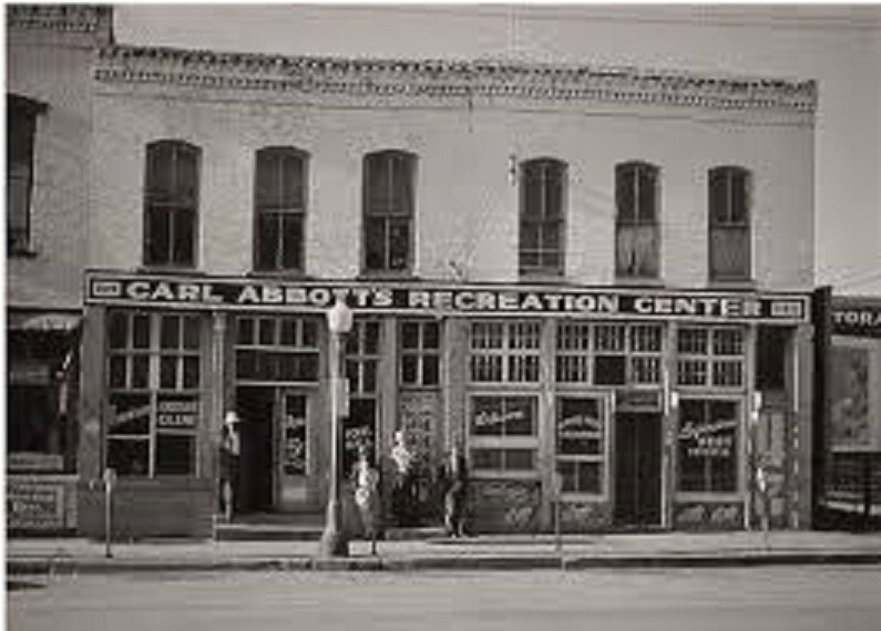 Abbott's Recreation Center, site of the Maple Leaf Club. (Sedalia Ragtime Archive)