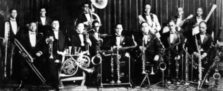 Doc Cook's Dreamland Ballroom Orchestra in 1925
