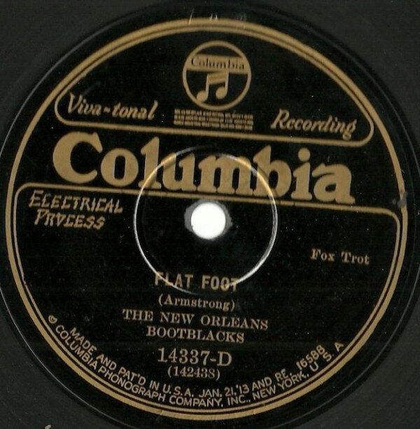 Flat Foot New Orleans Bootblacks