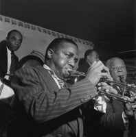 Hot Lips Page, Sidney Bechet, Freddie Moore, and Lloyd Phillips, Jimmy Ryan's (Club), New York City in June 1947