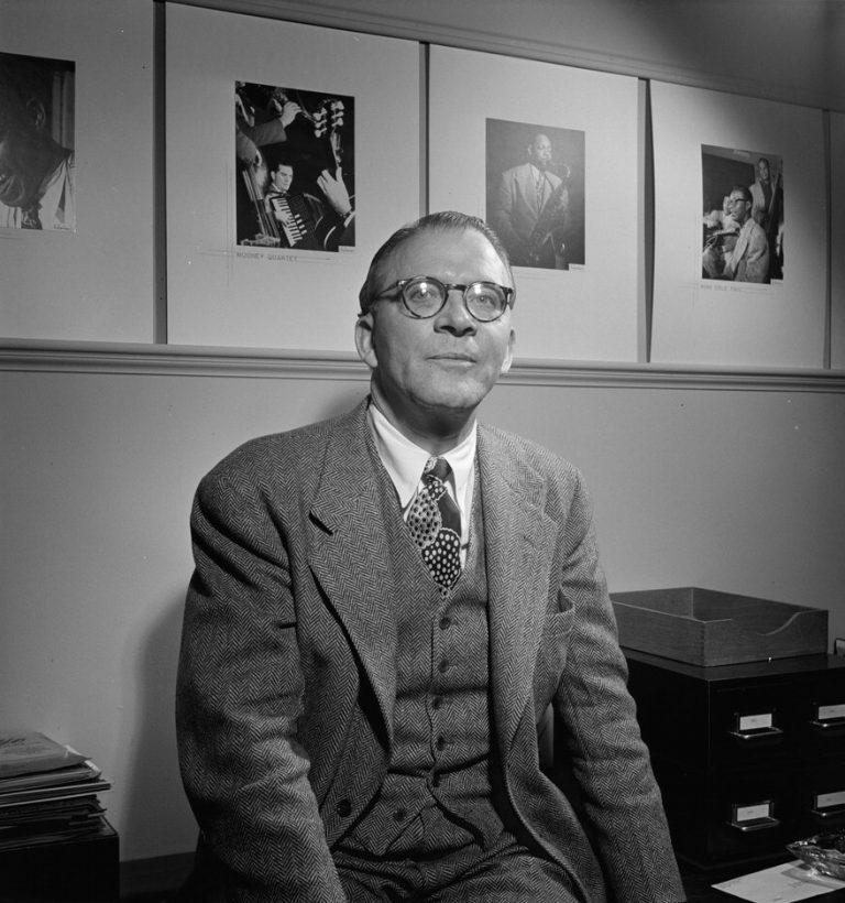 Jean Goldkette, William P. Gottlieb's office, New York