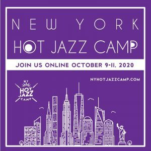 Virtual New York Hot Jazz Camp Planned for October