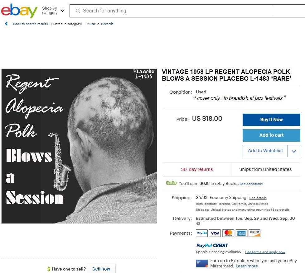 Regent Alopecia Polk
