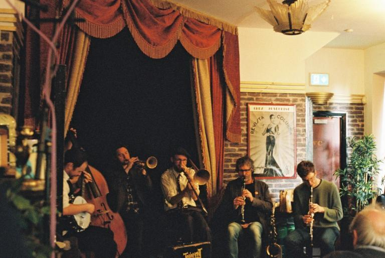 The Tenement Jazz Band: Last Jazz out of Dodge