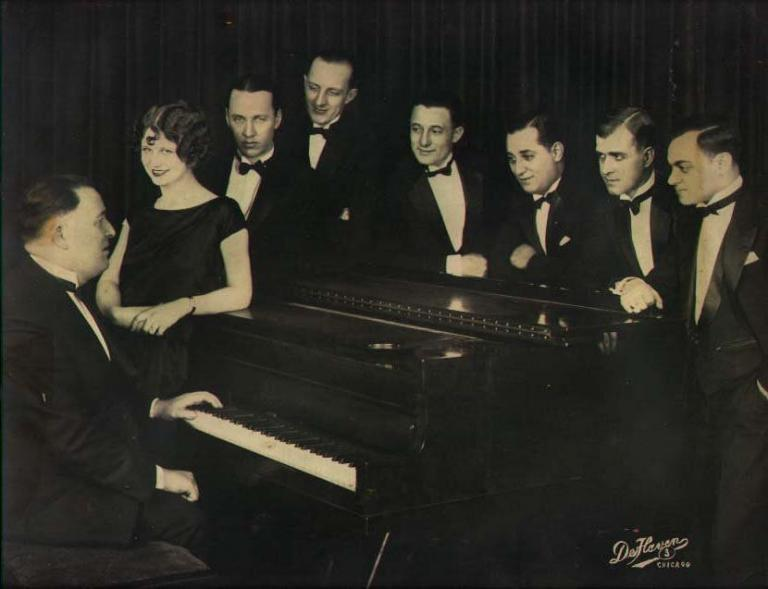 Thelma Terry with Colosimo's Orchestra