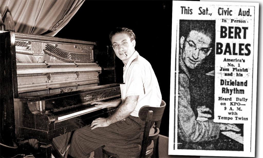 Burt Bales in 1947.