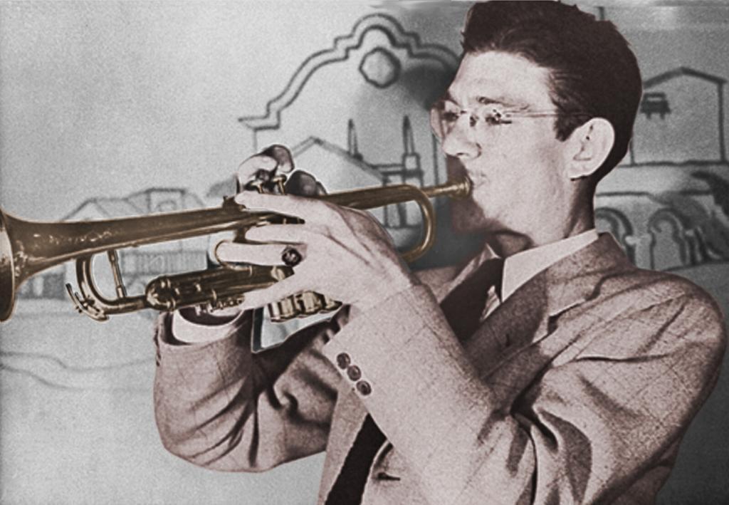 Benny Strickler at the Dawn Club, 1942.