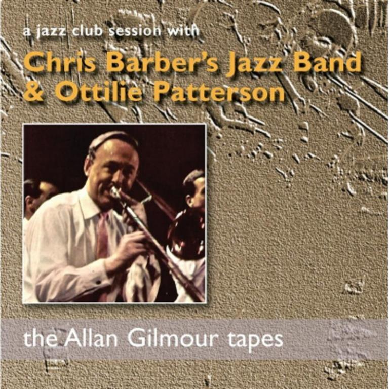 Allan Gilmour tapes Chris Barber