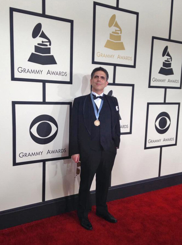 David Sager at 2015 Grammy Awards