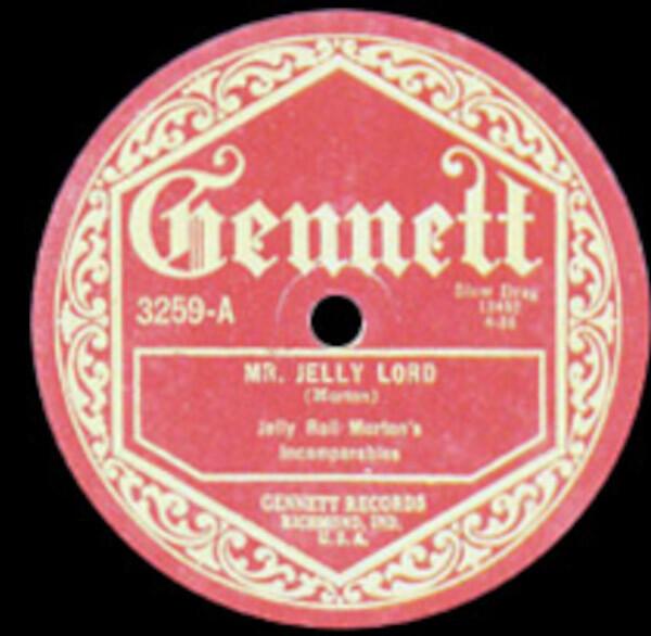 Jelly Roll Morton's Incomparables