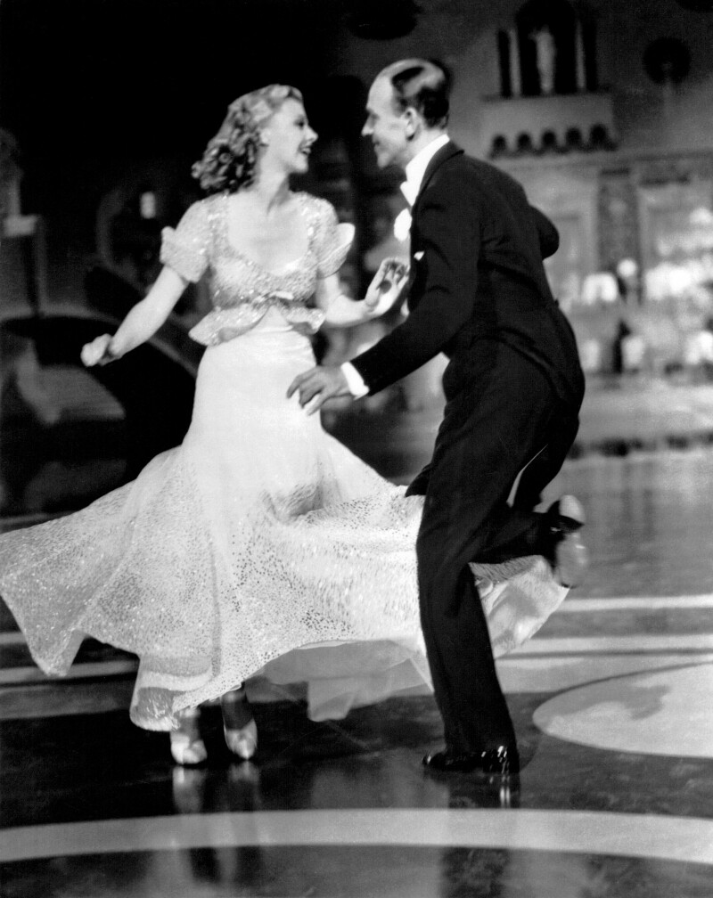 Ginger Rogers & Fred Astaire in Top Hat (1935