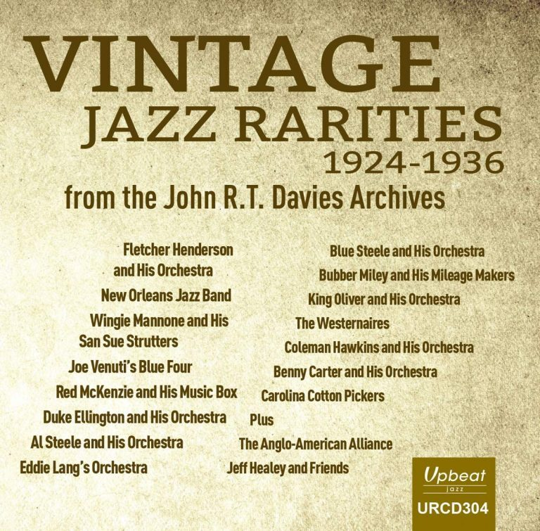 Vintage Jazz Rarities