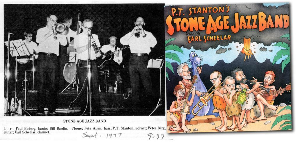 From the program for a performance at Old St. Hilary Church and the cover of the only Stone Age album, issued by Stomp Off Records in 1992.