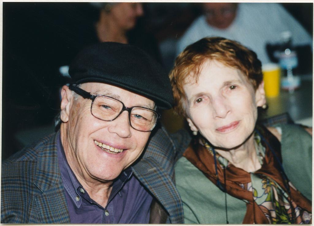 Bill and Mili Bardin, 2001.