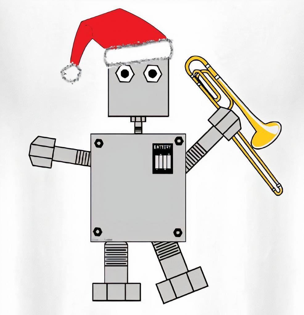 Santa Robot Trombone