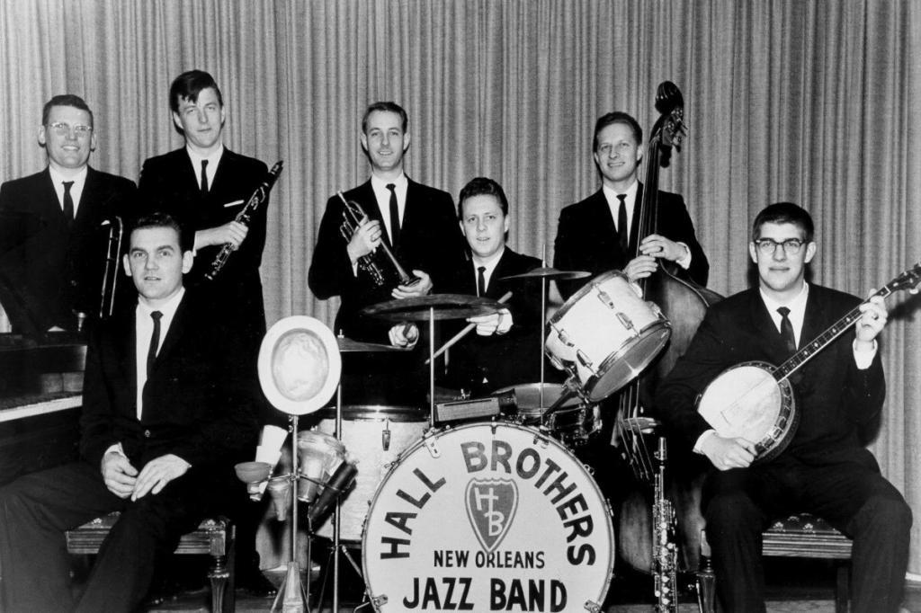 The Hall Brothers Band in 1962