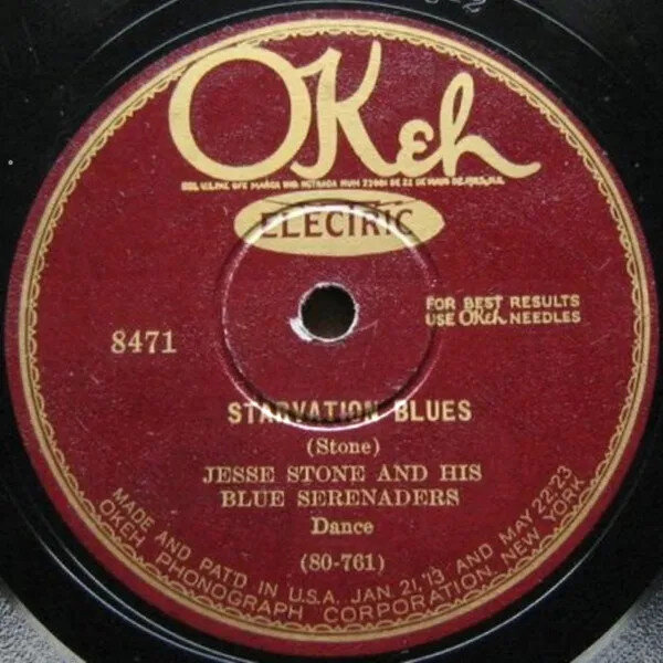 Jesse Stone and his Blues Serenaders