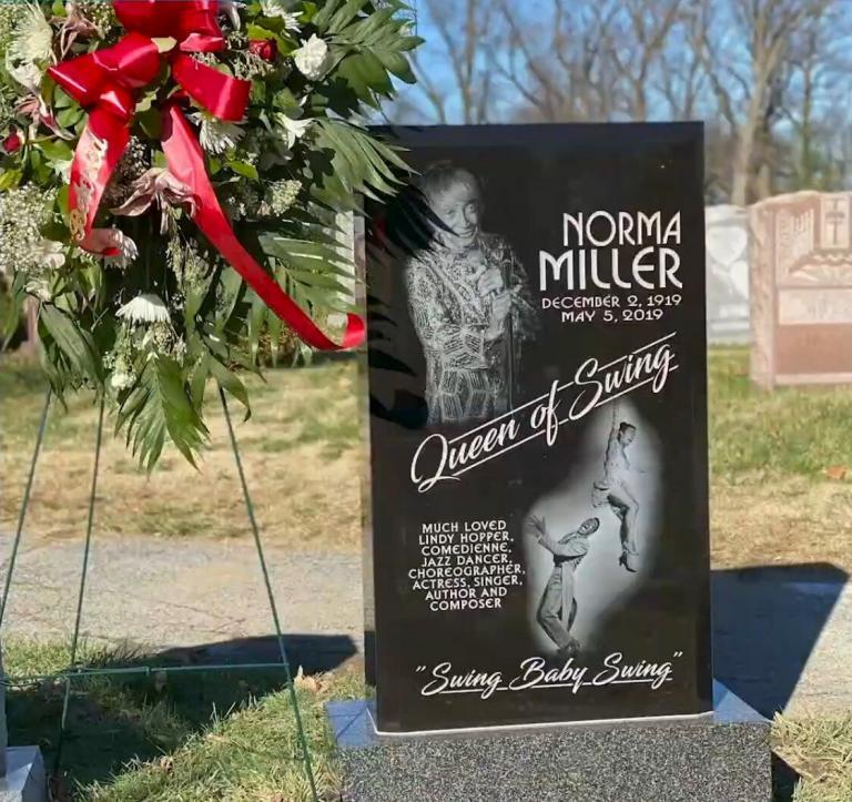 Lindy Hop's First Lady: Norma Miller Honored With Jazz Corner Monument