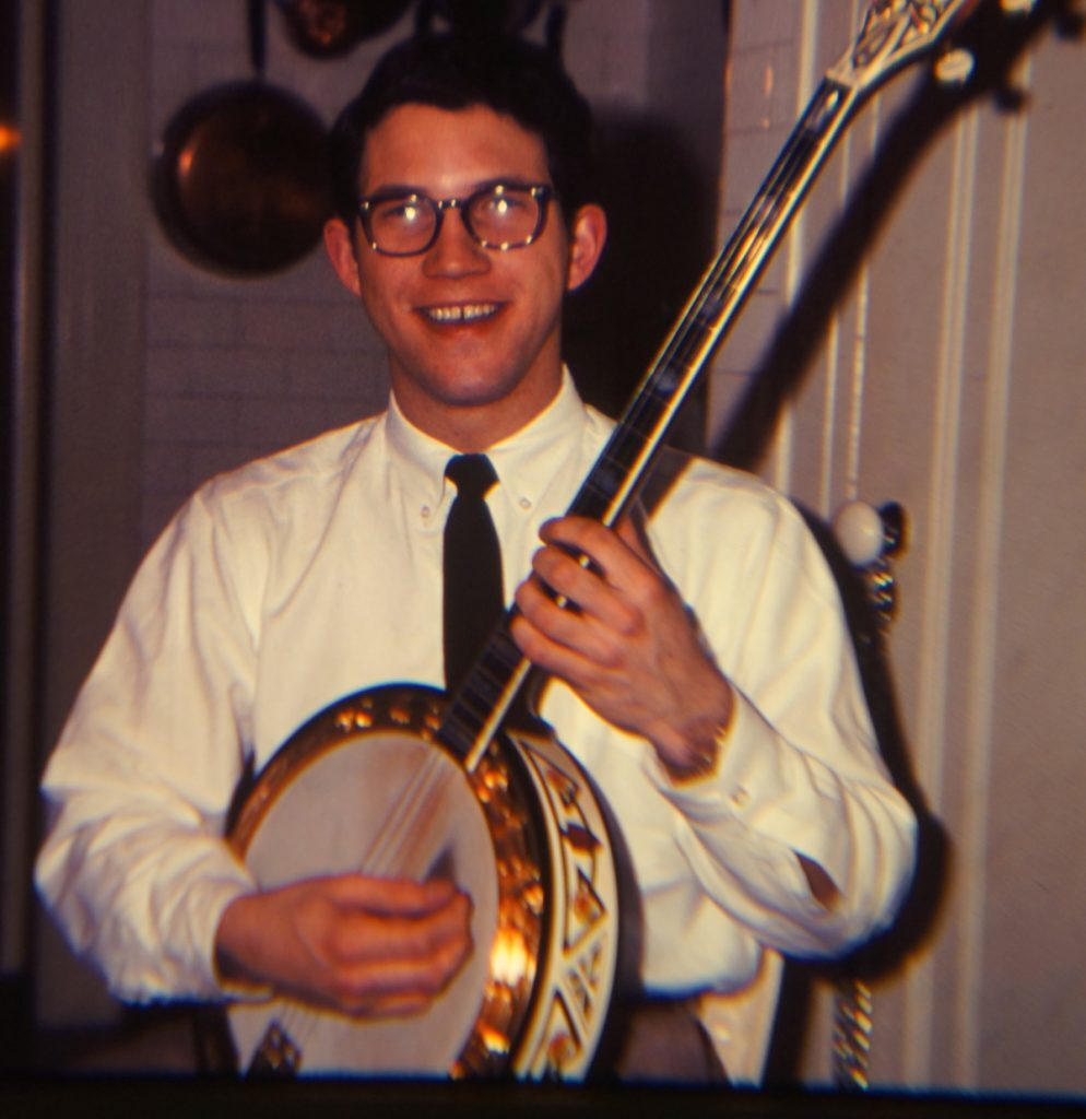 Scott Anthony with Vega Vox IV 1965.