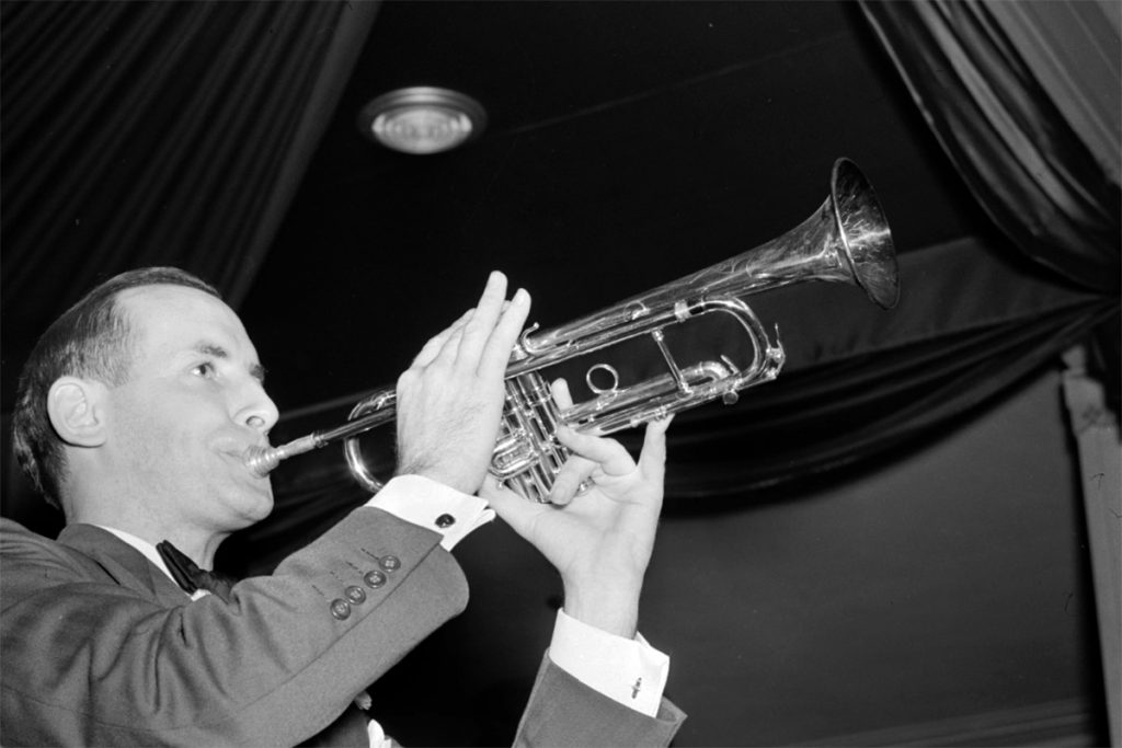 Arranger and trumpet player Larry Clinton.