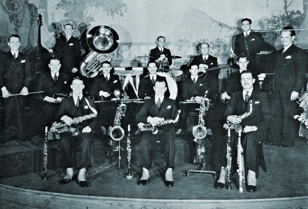 The Casa Loma Orchestra- Lido Venice - Boston, Mass blu c 1930