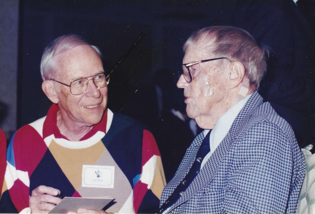 Lew Shaw and Les Swanson late 1990s