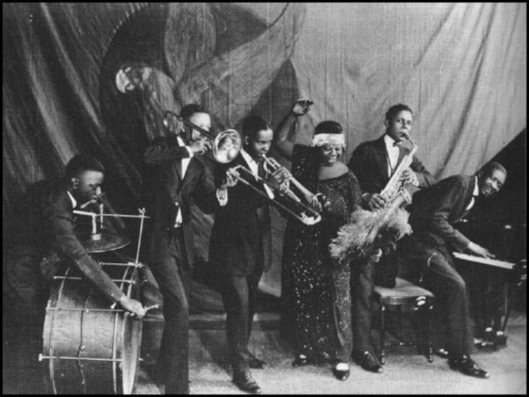 Ma Rainey and her Georgia Jazz Band