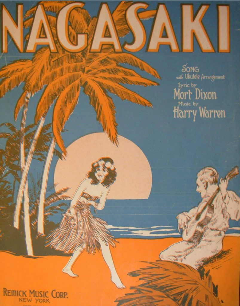 Nagasaki Sheet Music Cover