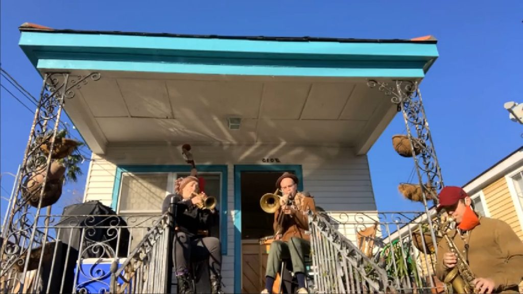 Shotgun Jazz Band Porch Concert