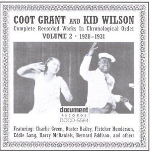 Coot Grant - singer and vaudevillian