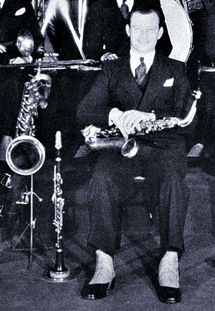 Clarence Hutchenrider, 1930.